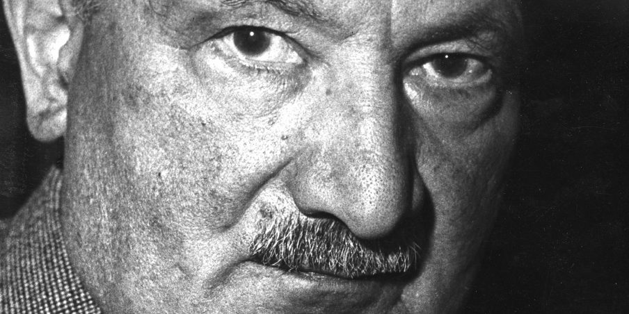 Portrait of German philosopher Martin Heidegger (1889 - 1976), 1958. (Photo by Fred Stein Archive/Archive Photos/Getty Images)