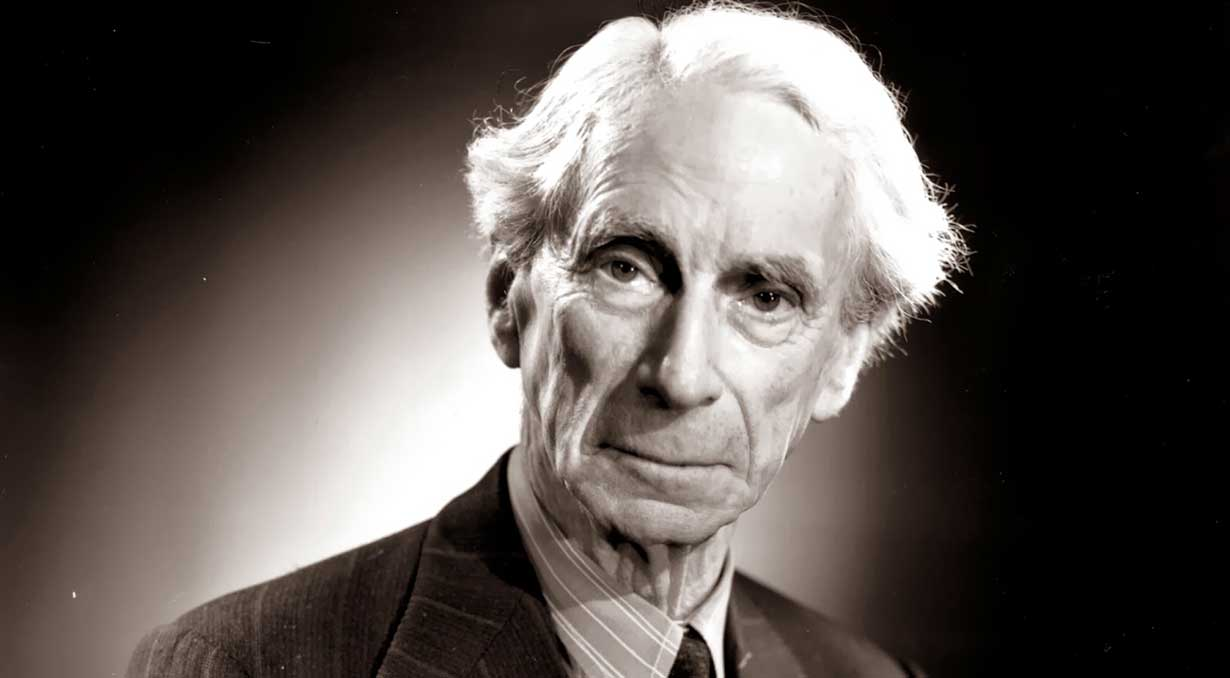 bertrand russell Bertrand russell civilized life has altogether grown too tame, and, if it is to be stable, it must provide a harmless outlets for the impulses which our remote ancestors satisfied in hunting.